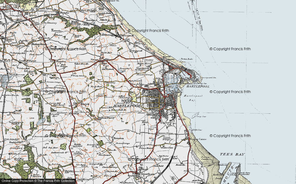 West Hartlepool, 1925