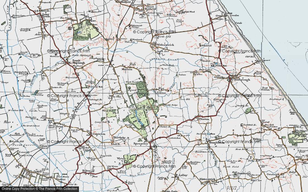 West Newton, 1924