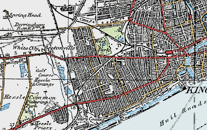 Old map of West Park in 1924