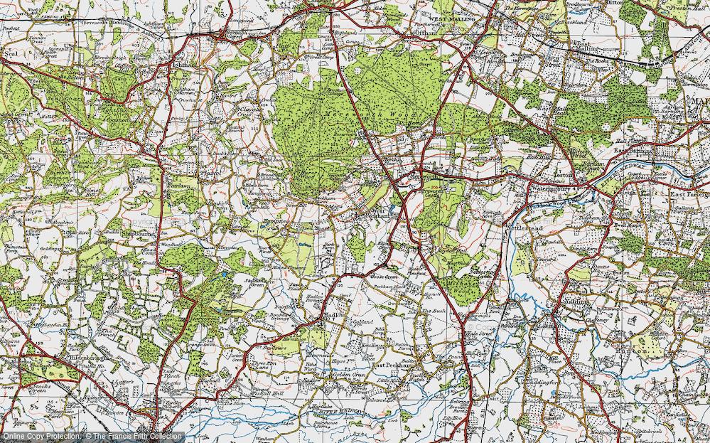 West Peckham, 1920