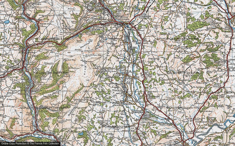 West Pontnewydd, 1919