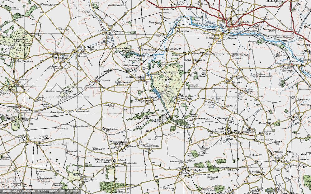 West Raynham, 1921