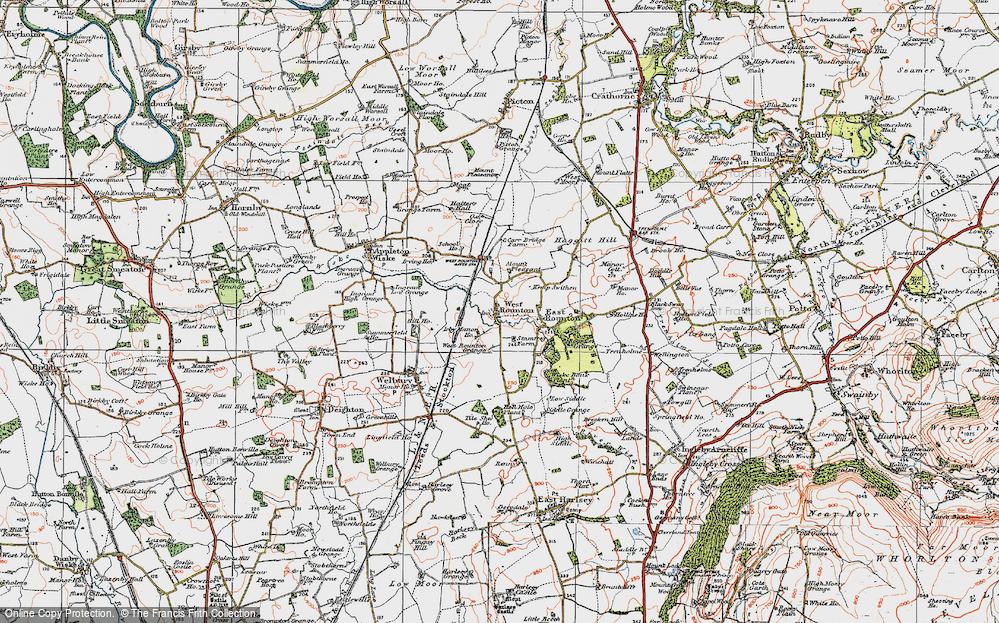 West Rounton, 1925