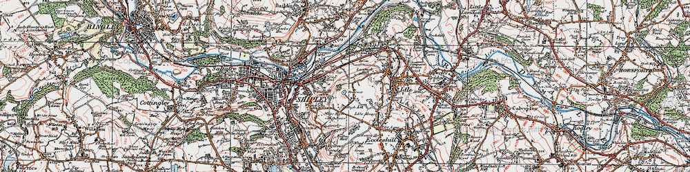 Old map of West Royd in 1925