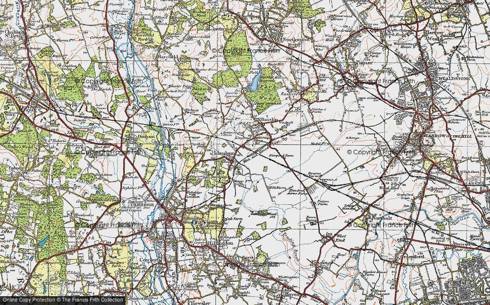 West Ruislip, 1920