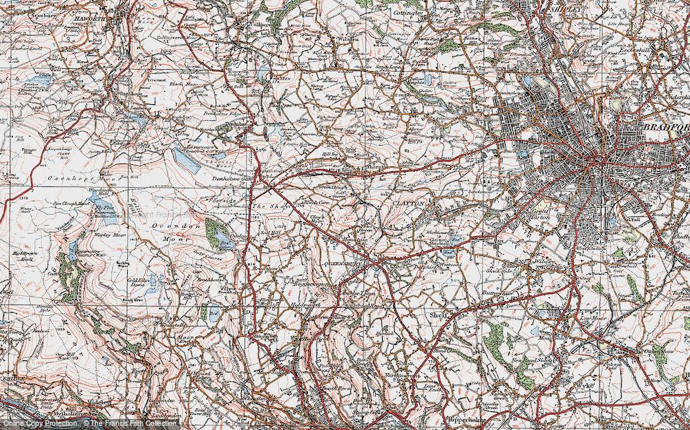 West Scholes, 1925