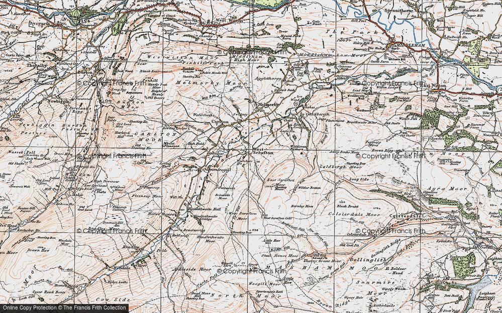 West Scrafton, 1925