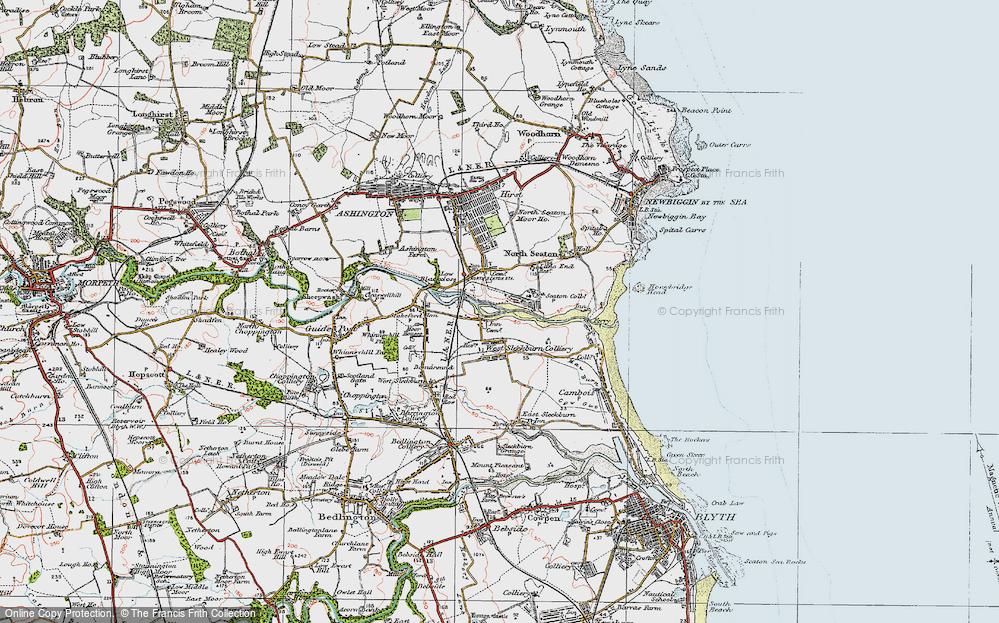 West Sleekburn, 1925