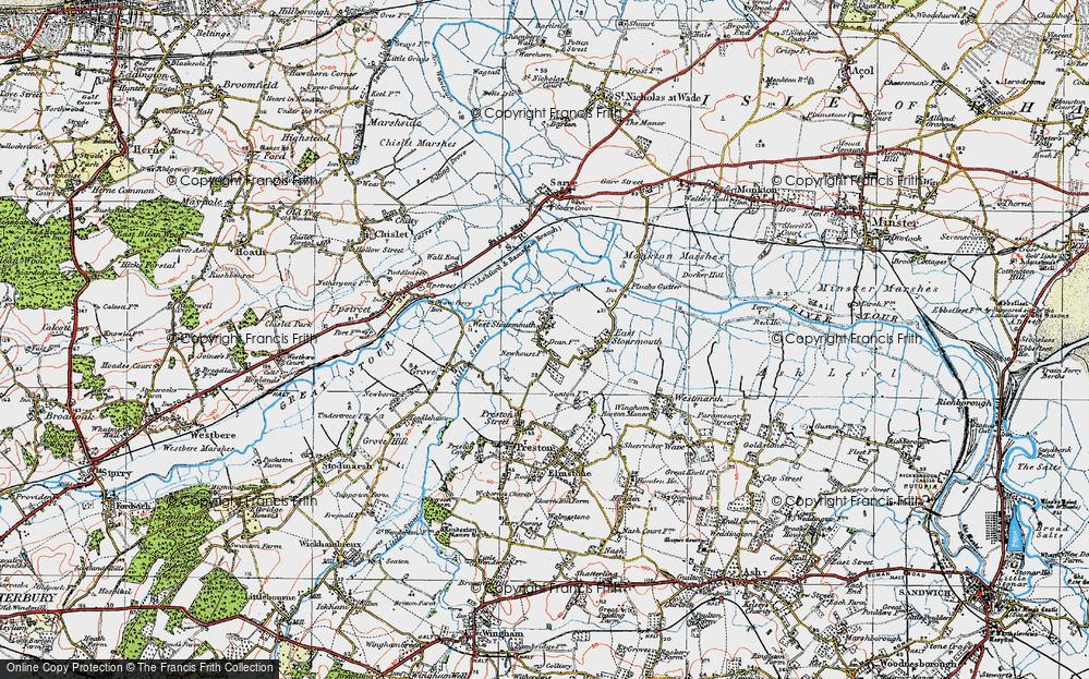 West Stourmouth, 1920