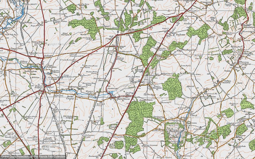 West Stratton, 1919