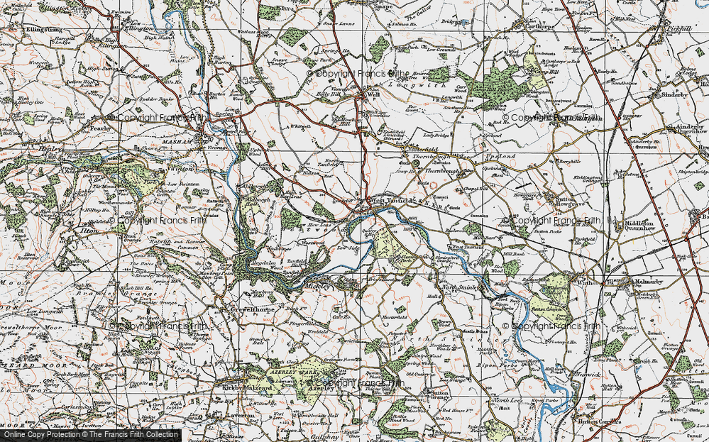 West Tanfield, 1925