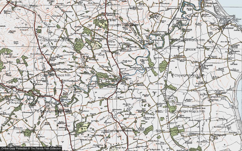 West Thirston, 1925