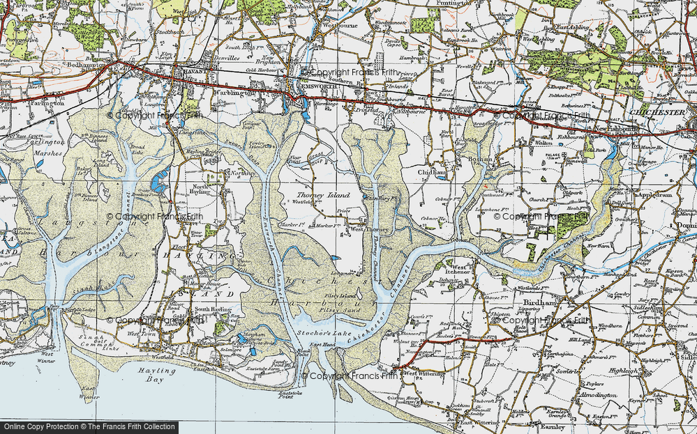 West Thorney, 1919