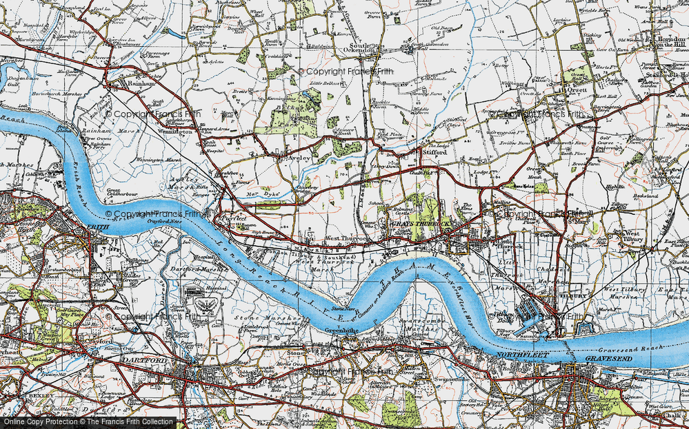West Thurrock, 1920