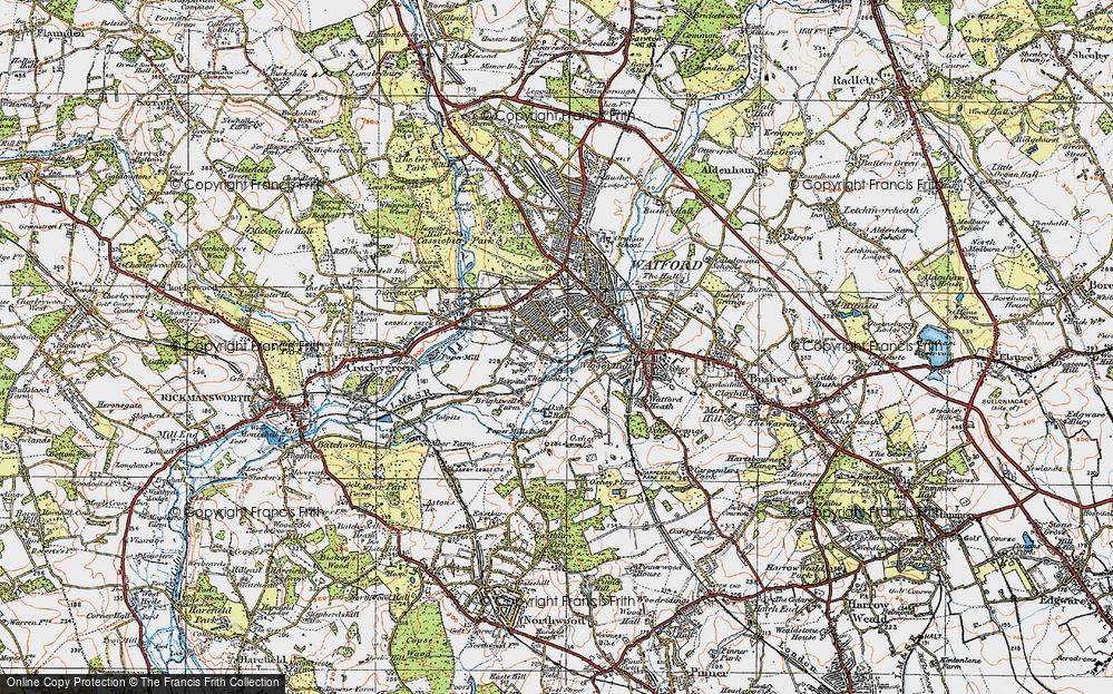 West Watford, 1920