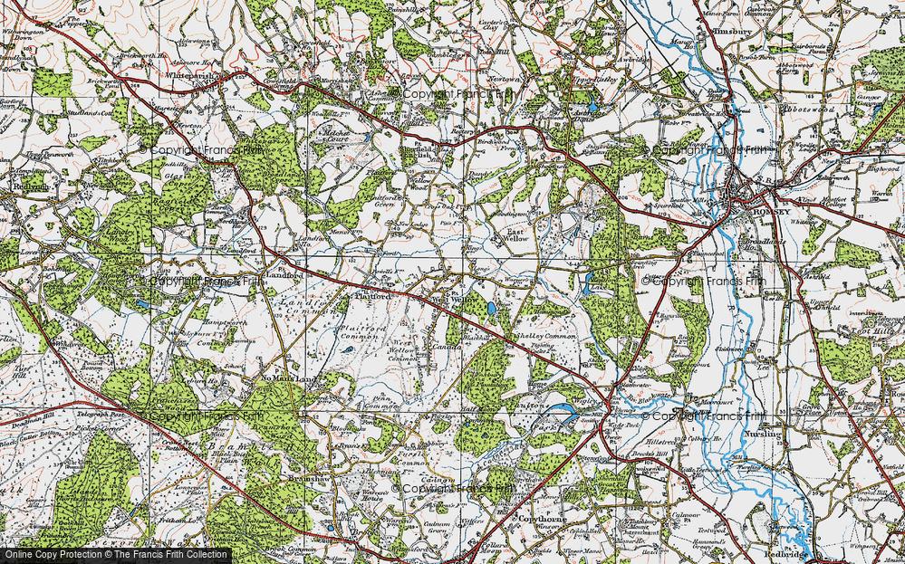 West Wellow, 1919