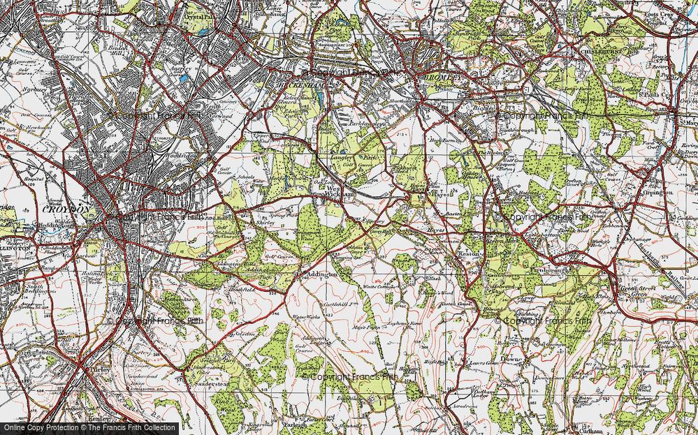 West Wickham, 1920
