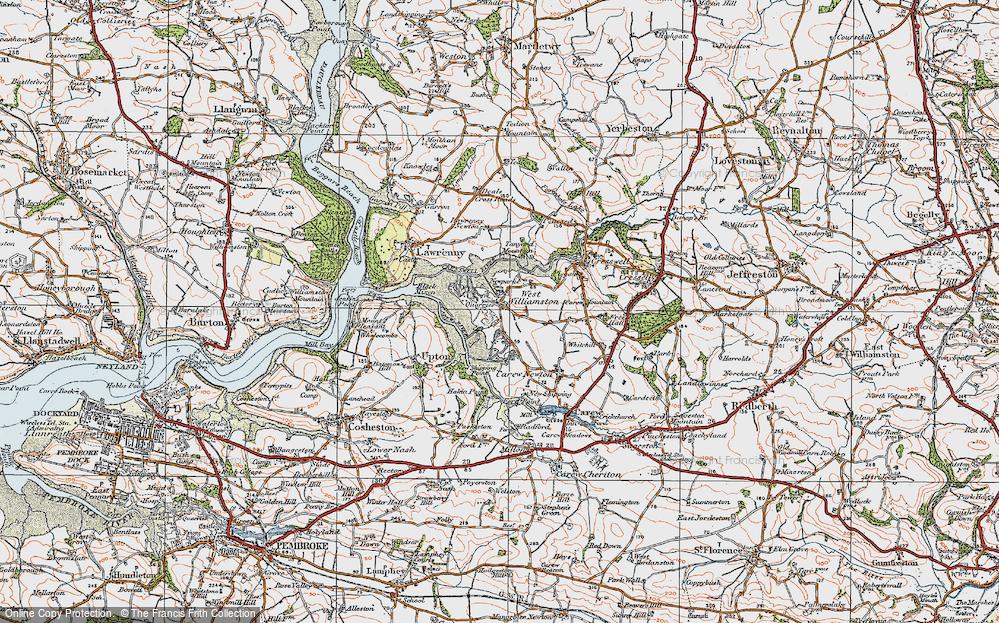 West Williamston, 1922