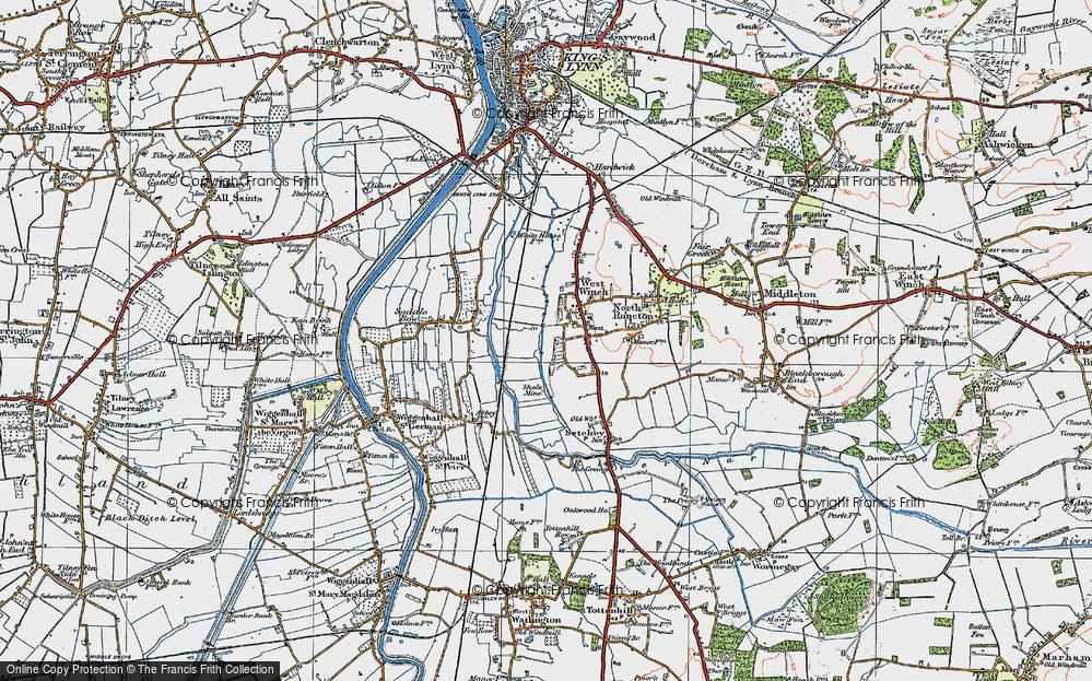 West Winch, 1922