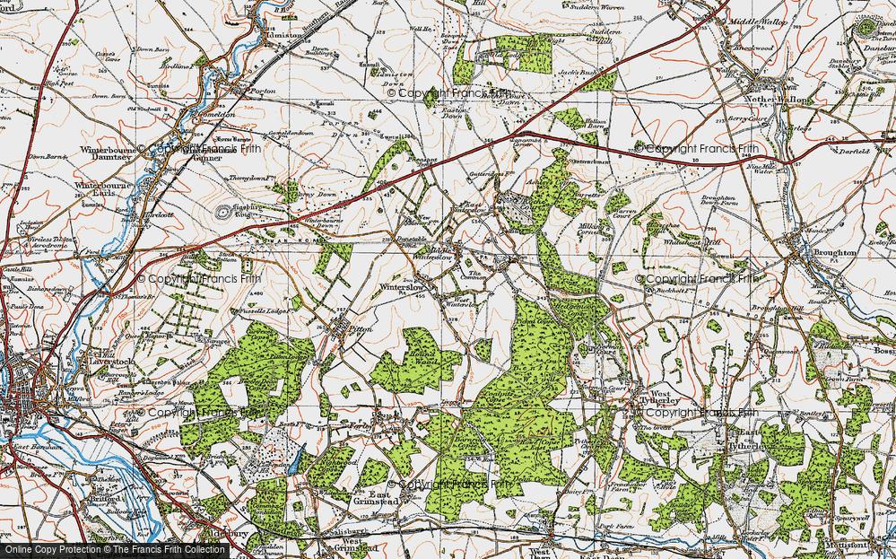 West Winterslow, 1919