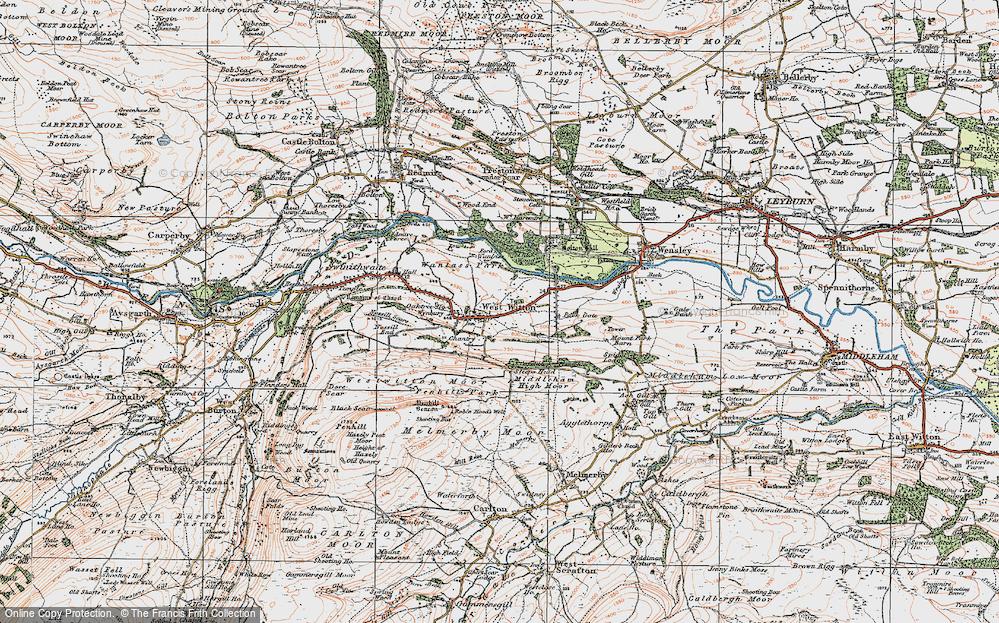 West Witton, 1925