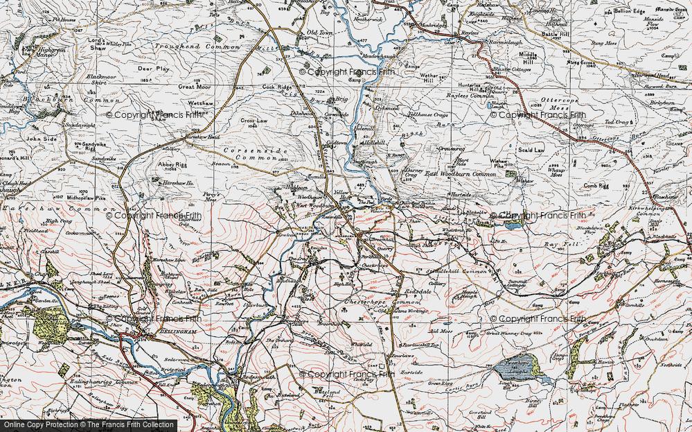 West Woodburn, 1925