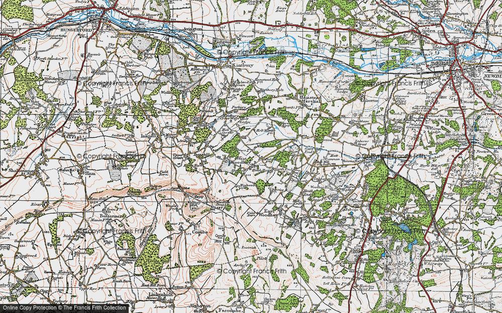 West Woodhay, 1919