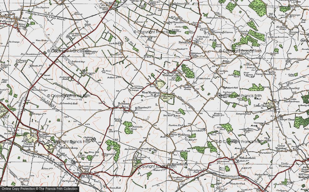 West Wratting, 1920