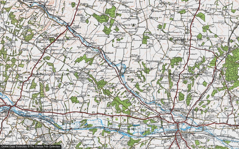 Old Maps of Westbrook Francis Frith