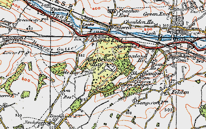 Old map of Westbrook Hay in 1920