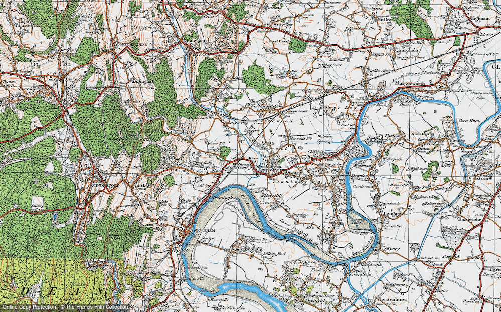 Westbury-on-Severn, 1919