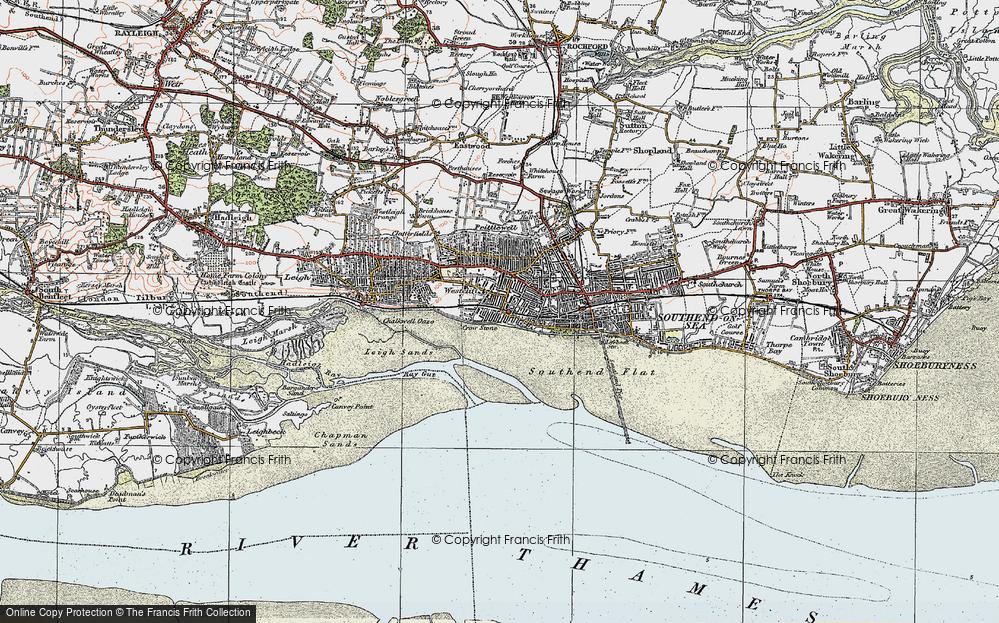 Westcliff-on-Sea, 1921