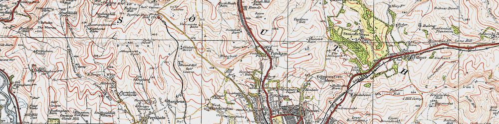 Old map of Westdene in 1920