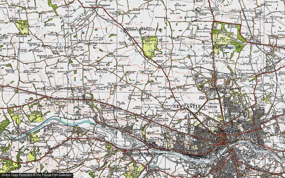 Westerhope, 1925
