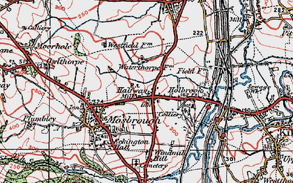 Old map of Westfield in 1923