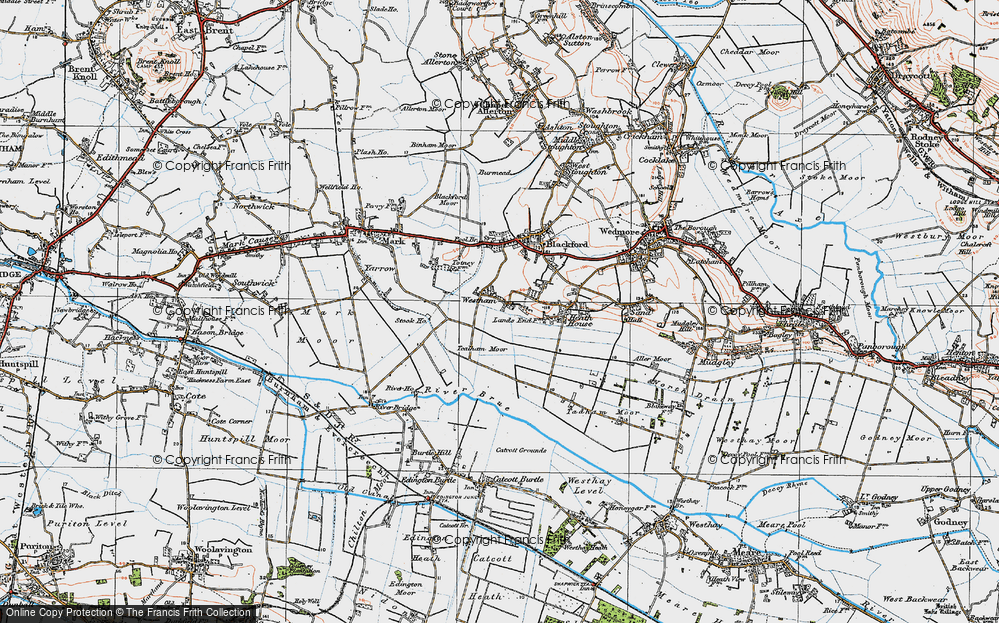 Old Map of Westham, 1919 in 1919