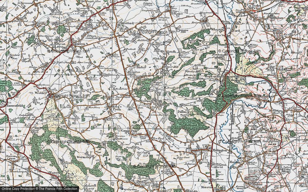 Westhope, 1920