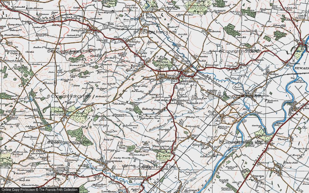 Westhorpe, 1921
