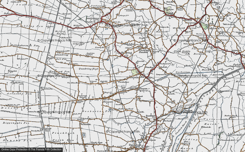 Westhorpe, 1922