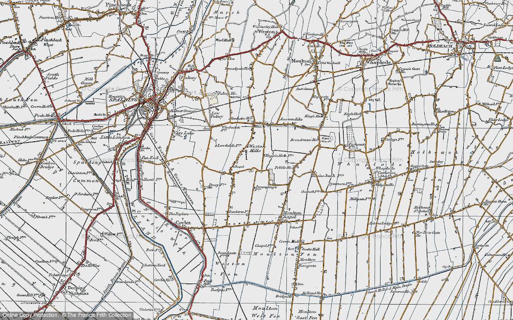 Weston Hills, 1922