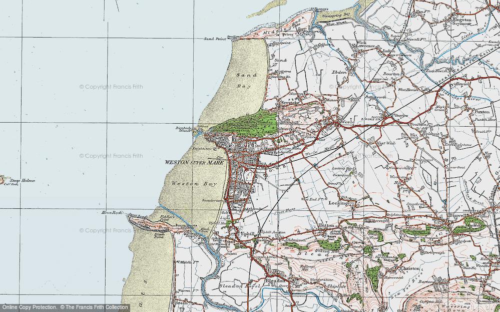 Weston-super-Mare, 1919