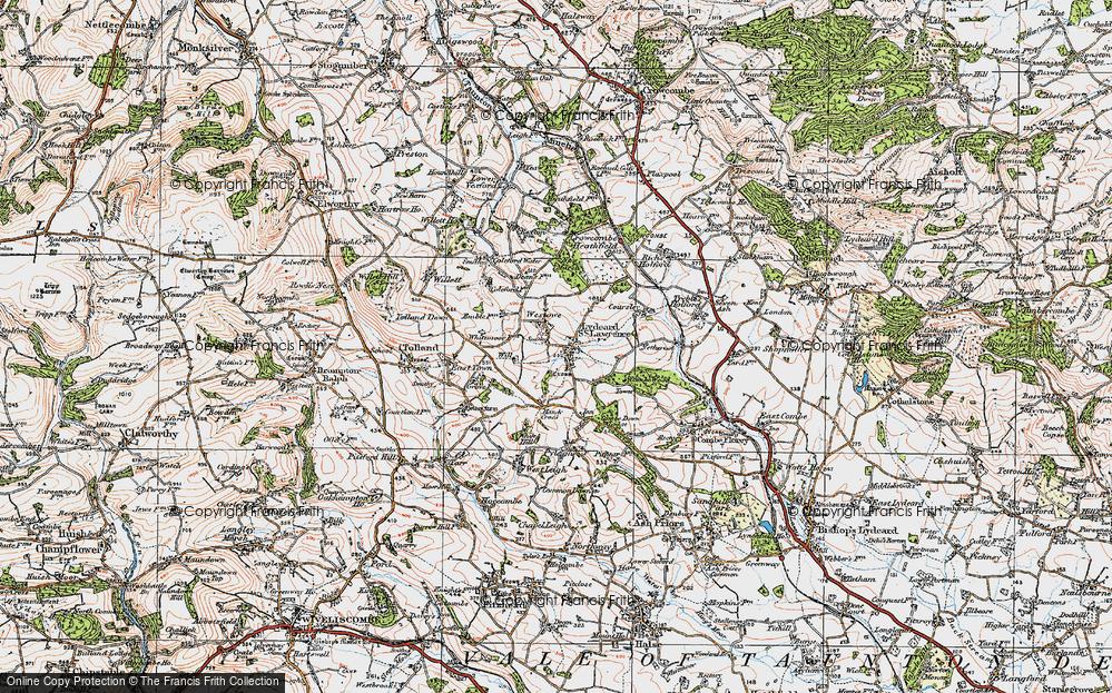 Old Map of Westowe, 1919 in 1919