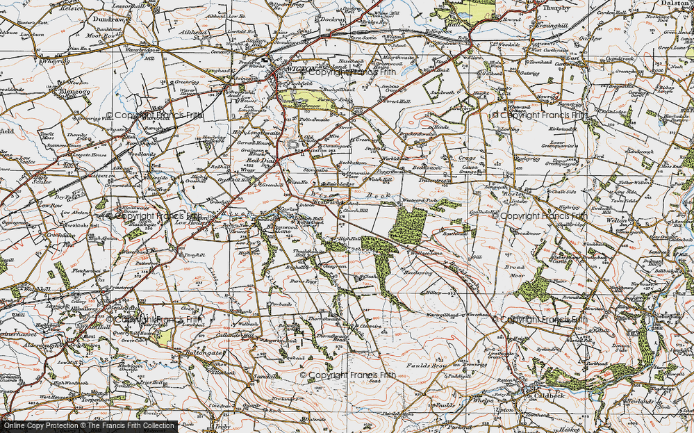 Westward, 1925
