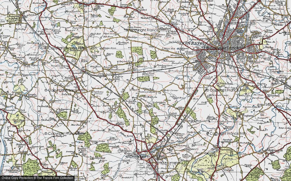 Westwood Heath, 1921