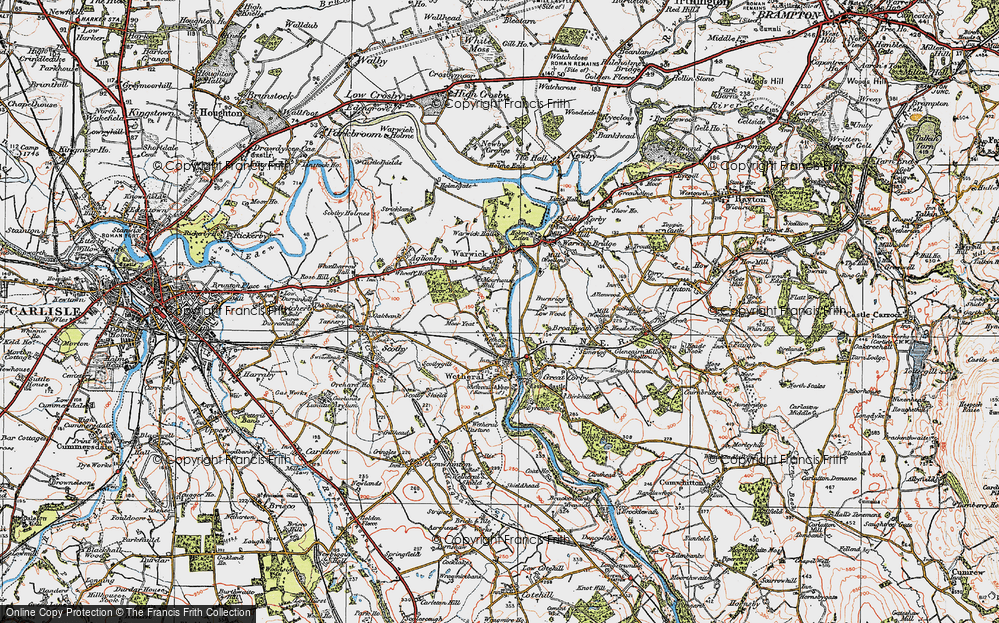 Wetheral Plain, 1925