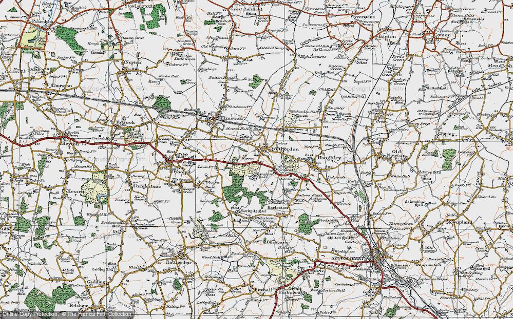 Wetherden, 1921