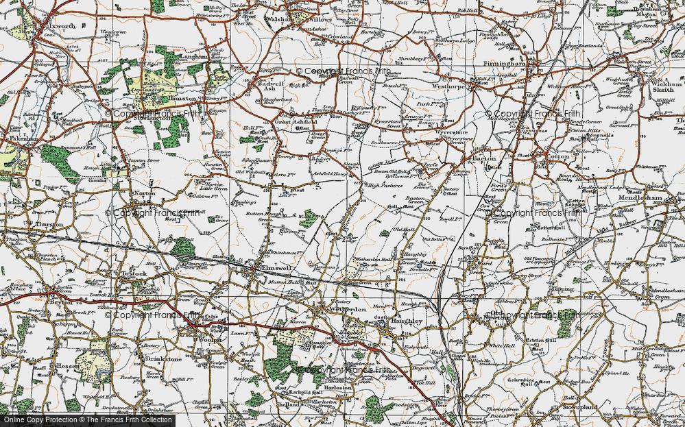 Wetherden Upper Town, 1921