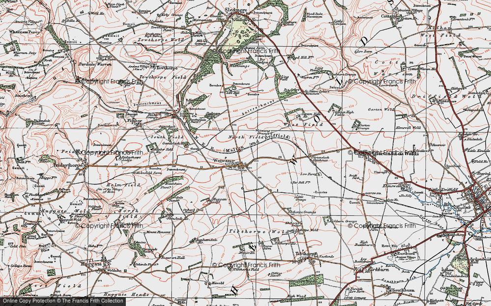 Wetwang, 1924