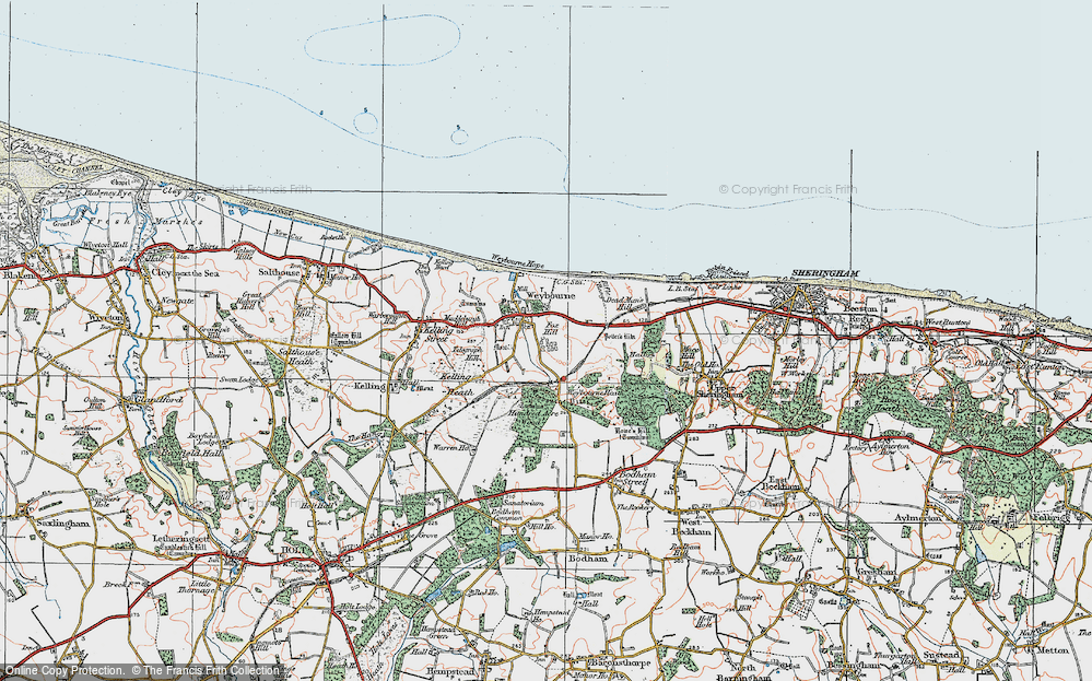 Weybourne, 1922