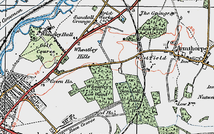 Old map of Wheatley Hills in 1923